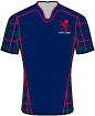London Scottish shirt